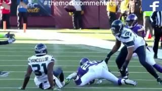 getlinkyoutube.com-The Mock Commentator: NFL Vikings v Seahawks Wild Card Greatest Ever Commentary 2016