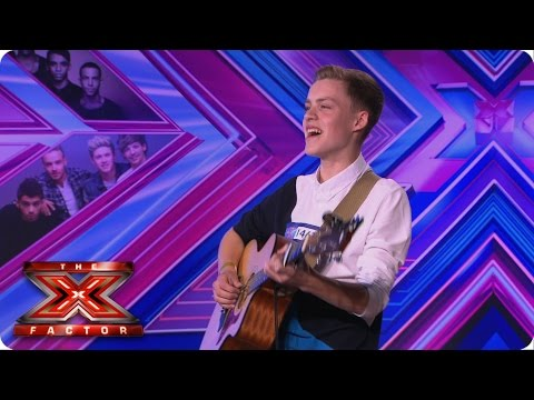 Reece Bibby sings Disclosure's Latch   Room Auditions   The X Factor UK 2014