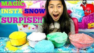 getlinkyoutube.com-Coloring Magic Insta Snow Surprise |B2cutecupcakes