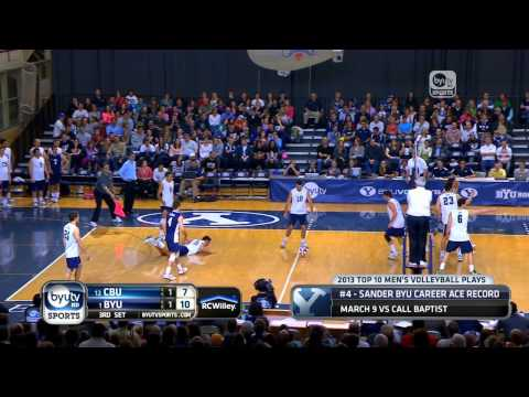2013 BYU Men's Volleyball Top 10