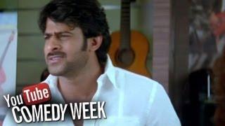 getlinkyoutube.com-Ek Niranjan Movie | Kangana & Prabhas Comedy Scene