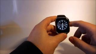getlinkyoutube.com-Smartwatch A9 Unboxing - English