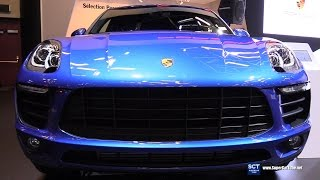 getlinkyoutube.com-2017 Porsche Macan Turbo - Exterior and Interior Walkaround - 2017 Montreal Auto Show