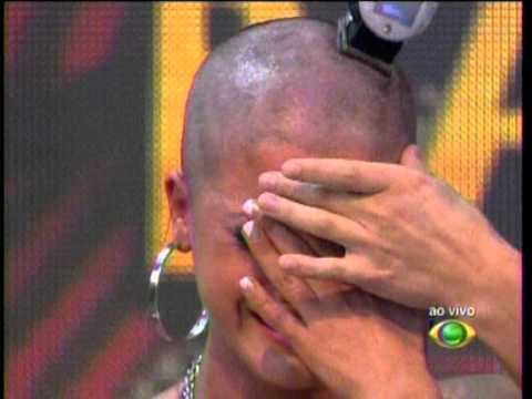 Panicat Babi - Pegadinha da Babi e como castigo ficando careca 22-04-2012.