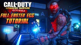 """""""Exo Zombies"""" Full Easter Egg SOLO Walkthrough - Exo Zombies Easter Egg Tutorial (COD AW)"""
