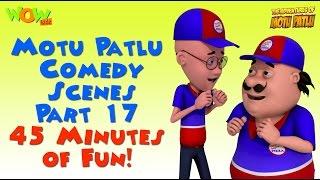 getlinkyoutube.com-Motu Patlu comedy scenes Part 16 - Motu Patlu Compilation
