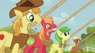 getlinkyoutube.com-MLP FiM S3 E8 Apple Family Reunion - Raise This Barn