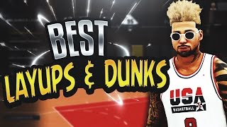 NBA 2K17 Tips: BEST LAYUPS & DUNKS ANIMATIONS - BEST UNBLOCKABLE DUNK ANIMATIONS IN 2K17! (TUTORIAL)