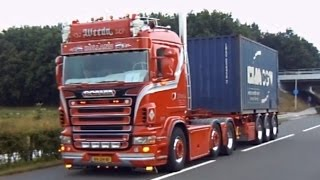 getlinkyoutube.com-best of Scania V8 sound 2013 - 2015 open and loud pipes saves lives