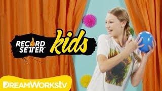 getlinkyoutube.com-Autumn Miller's Water Balloon Pop Challenge I RECORDSETTER KIDS