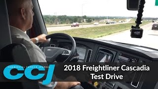 getlinkyoutube.com-2018 Freightliner Cascadia Test Drive