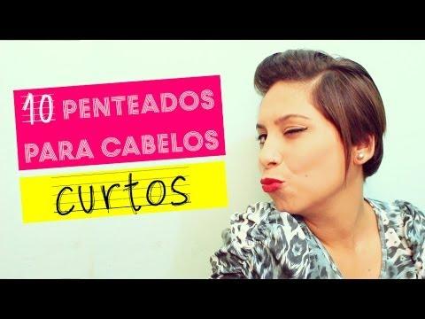 10 penteados para cabelos curtos by Fiama Pereira