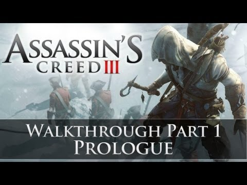 Assassins Creed 3 - 100% Sync Walkthrough Part 1 (Sequence 1 | Memory 1)