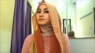 getlinkyoutube.com-Hijab tutorial pashmina sifon | hijab tutorial tuk pesta dan acara formal