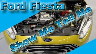 Show Me Tell Me Questions - Ford Fiesta