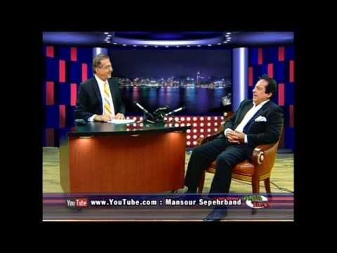 Interview Mansour Sepehrband With Mortza Barjasteh- Talk Show - Omid iran TV . Oitn