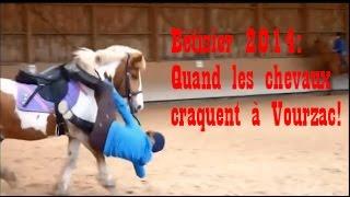 """getlinkyoutube.com-Bêtisier équestre 2014 """"Quand les chevaux craquent à Vourzac"""""""