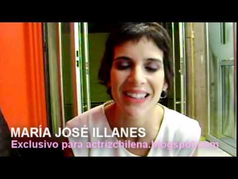 María José Illanes saluda al blog Actriz Chilena.