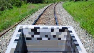 getlinkyoutube.com-LEGO Minecart - Minecraft