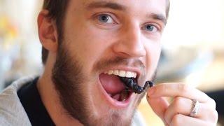 getlinkyoutube.com-EATING A SCORPION (5 Weird Stuff Online - Part 21)