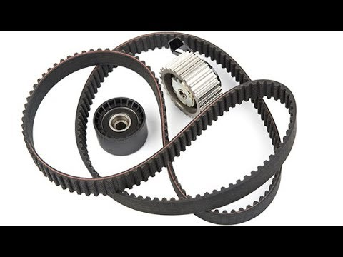 Mazda MPV 2.0 дизель течь сальников, замена грм и ремонт роликов генератора.