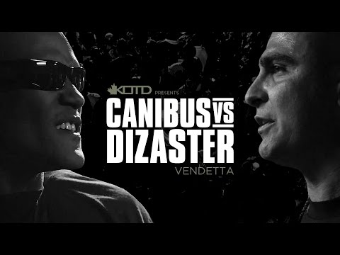 KOTD - Rap Battle - Canibus vs Dizaster - *Co-Hosted by DJ Skee*