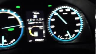 ハリアーハイブリッド 0〜100km 加速