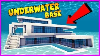 Minecraft - BUILDING THE MOST SECURE UNDERWATER BASE! LIVE w/TinyTurtle width=