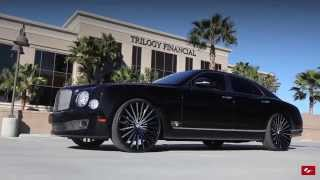 "getlinkyoutube.com-Bentley Mulsanne on Custom 24"" LZ-722 Lexani Wheels"