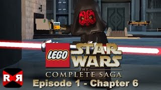 getlinkyoutube.com-LEGO Star Wars: The Complete Saga - Episode 1 Chp. 6 - iOS / Android - Walkthrough Gameplay