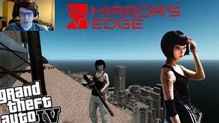 getlinkyoutube.com-GTA IV LCPDFR Mirror's Edge Faith Mod Police Patrol - Are You Excited for Mirrors Edge 2? (+Webcam)