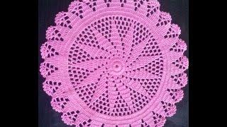 getlinkyoutube.com-Como Hacer Un Tapete O Carpeta a Crochet en Español (1 parte)