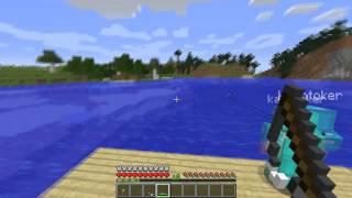 getlinkyoutube.com-Minecraft Kapışması w/ Oyun Portal #3 - Arena ve Balık Tutma