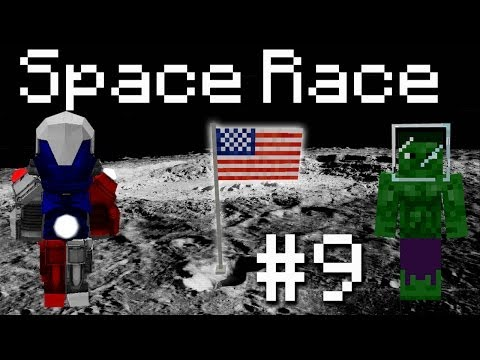 Galacticraft Space Race - BBW Enderman DP! #9