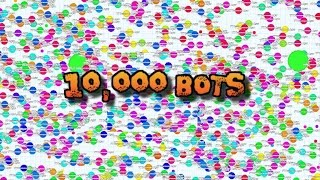 getlinkyoutube.com-How to HACK Agar.io - 10,000 MASS BOTS GAMEPLAY! Free BOTS Download