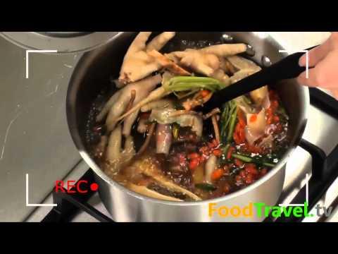 ต้มแซ่บซุปเปอร์ตีนไก่ Chicken Feet Spicy Soup