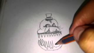 getlinkyoutube.com-Como dibujar a fredbear fnaf 4