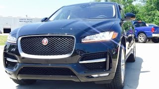 getlinkyoutube.com-2017 Jaguar F Pace 35T R SPORT AWD Full Review /Start Up /Exhaust /Short Drive