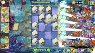 Plants vs Zombies 2 - Arthur's Challenge Level 1000 - Impossible Level