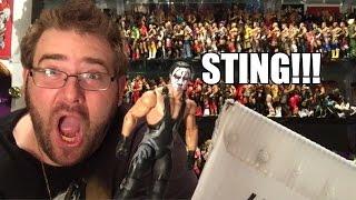getlinkyoutube.com-WWE FIGURE FURY FAN MAIL UNBOXING BLITZ!!! Elite Sting, Hulk Hogan, and DEADPOOL