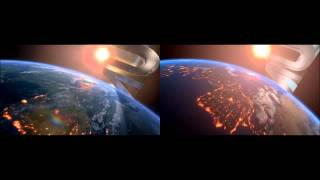 getlinkyoutube.com-Blender Universal Studios Intro - Comparison with the Original Universal Studios Intro