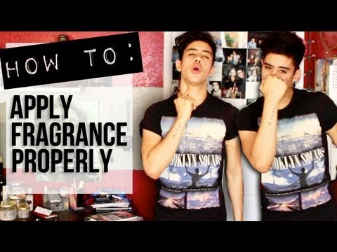 HOW TO: APPLY FRAGRANCE PROPERLY! | #JAIRSQUICKTIPS