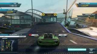 getlinkyoutube.com-NFS Most Wanted 2012: All 2013 Porsche 918 Spyder Events with Full Pro Mods [Terminal Velocity DLC]