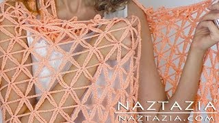 getlinkyoutube.com-DIY Tutorial - Learn How to Crochet Flower of Life Chain Shawl - Star Stitch