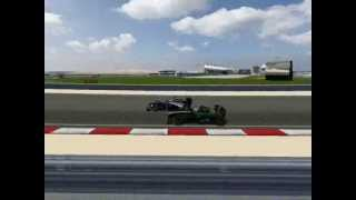 F1 2012 Bahrein Highlights