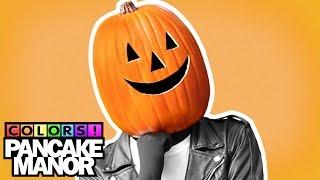 getlinkyoutube.com-ORANGE SONG ♫ | HALLOWEEN Colors | Kids Songs | Pancake Manor