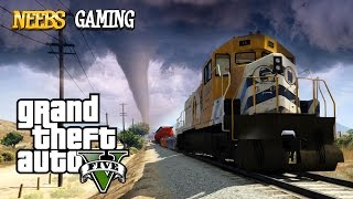 getlinkyoutube.com-GTA V Mods Train vs Tornado