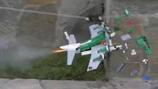getlinkyoutube.com-lego rocket plane 3rd flight in slow motion