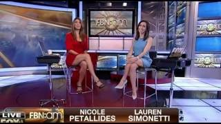 getlinkyoutube.com-Nicole Petallides & Lauren Simonetti hot legs - FBN: am - 05/31/16