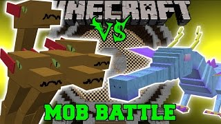 getlinkyoutube.com-HYDRA VS WINDIGO & THE QUEEN - Minecraft Mob Battles - Minecraft Mods
